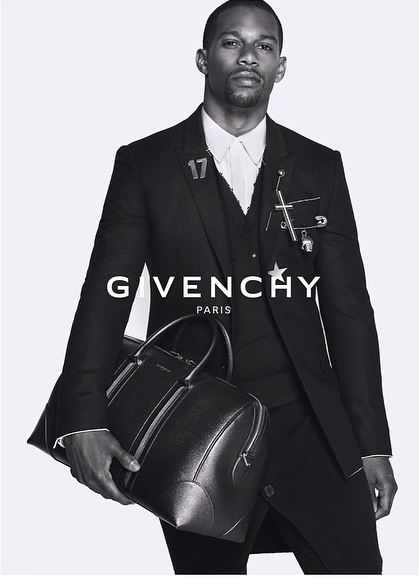 Victor Cruz for Givenchy Fall Winter 2015 2